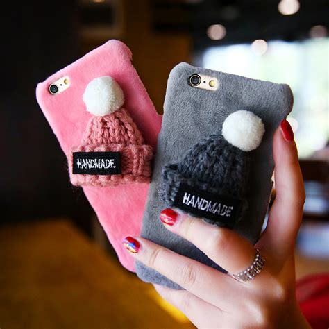 Terbaru Casing Fur Hat Series Iphone 6 6s get cheap girly phone covers aliexpress alibaba