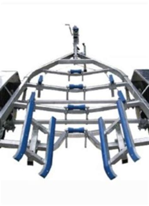 boat trailer drive on guides how to adjust your trailer ultra trailers nz