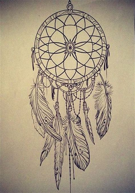 tattoo dreamcatcher sketch d r e a m i n g pinterest