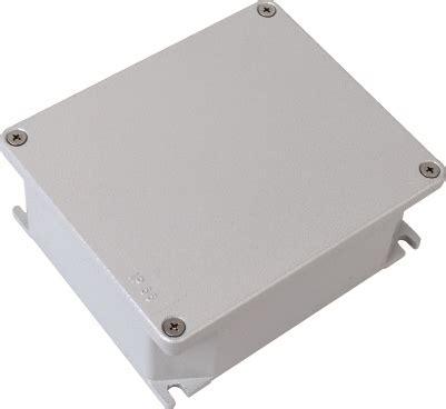 cassette alluminio scatole di derivazione in lega di alluminio verniciato