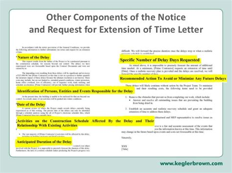 Request Letter Extension Of Time ohio construction seminar quot dealing with one sided