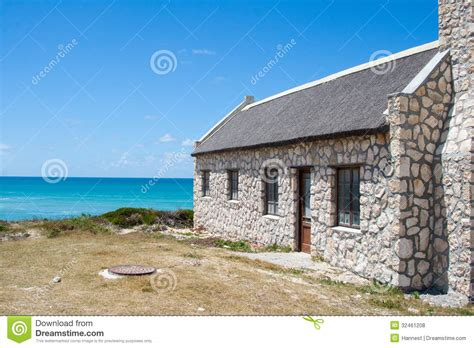 House Design Styles In South Africa Stone House At Arniston Royalty Free Stock Photos Image