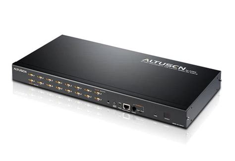 Rack Kvm by Altusen Kh0116 Rack Kvm Switch Kvm Switch Aten 16 Port