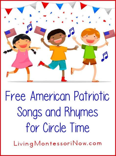 free m new year song free american patriotic songs and rhymes for circle time