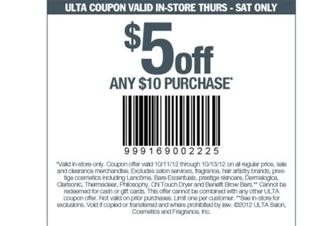10 40 office max coupon good today only august 22 grab this 5 off 10 at ulta we have one in covington