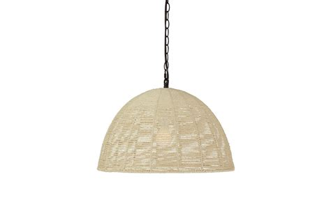 Paper Pendant Lights Jovan Paper Rope Pendant Light By 174 At Gardner White