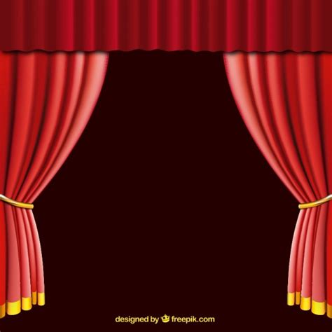 red curtain vector open red curtain vector free download