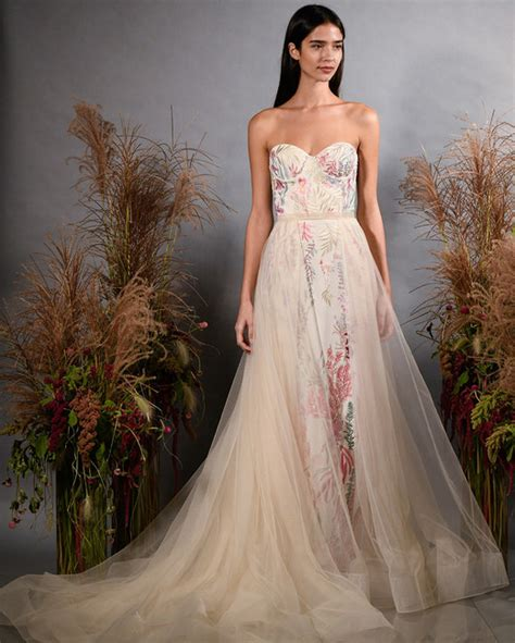 fall dress colors colorful wedding dresses that make a statement the