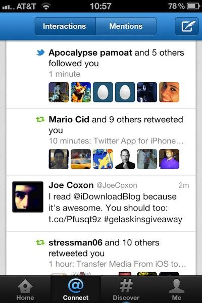 twitter iphone layout twitter for iphone gets major update with new design