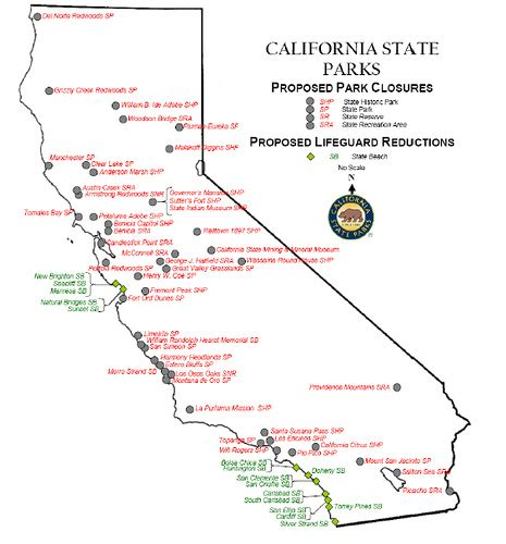 california map of national parks map california state parks swimnova