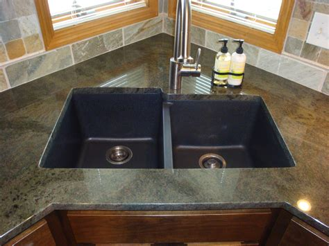 Design Composite Kitchen Sinks Ideas One Composite Kitchen Sink And Countertop One Sink Vanity Top One