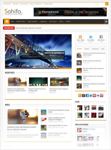 25 Free Premium Responsive Magazine Wordpress Themes For Theme Free Responsive Magazine
