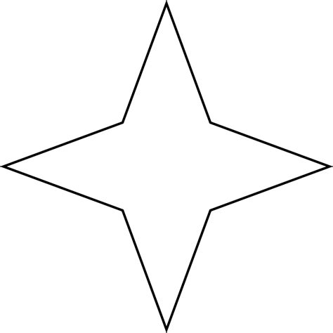 12 Sided Polygon Interior Angles Star Clipart Etc