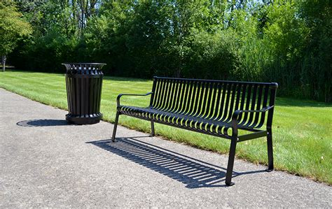 curved back bench press commercial park bench with curved back