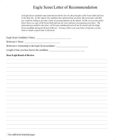 Township Manager Cover Letter by Eagle Scout Recommendation Letter Sle Township Manager Cover Letter Volunteer Cover