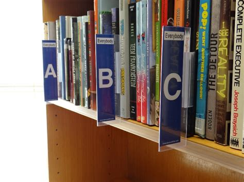 Shelf Markers For Library by Library Signs And Posters Plus Shelf Signage Labels And