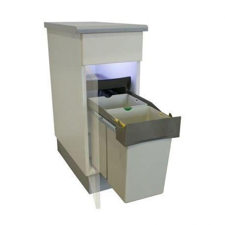 poubelle de cuisine tri s駘ectif 2 bacs poubelle bacs 28l gris ilovedetails com