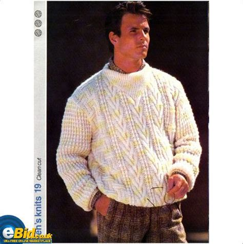 gents sweater knitting pattern the world s catalog of ideas