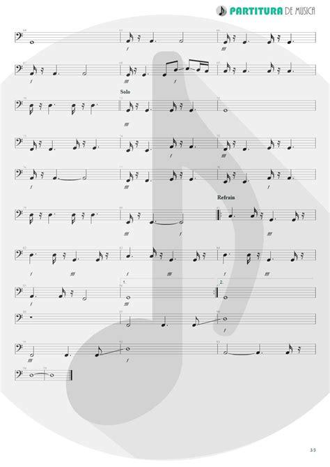 Partitura de musica - Baixo Elétrico | Wind Of Change