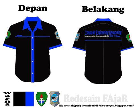 Logo Baju Engineering baju kejuruan tkj