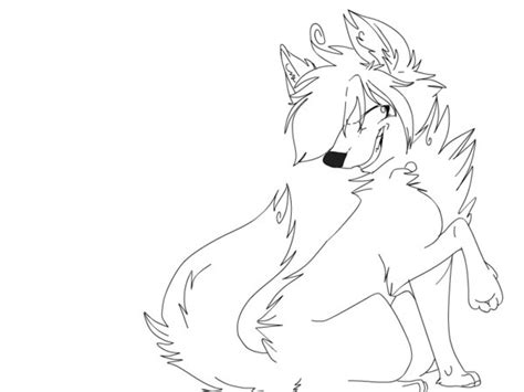 Cool Wolves Coloring Pages Www Imgkid Com The Image Cool Anime Coloring Pages