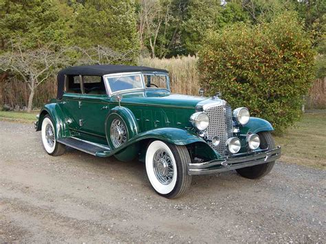 Classic Chrysler by 1932 Chrysler Cl Imperial Convertible Sedan For Sale