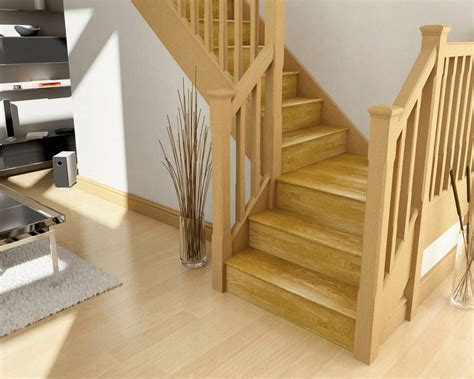 Oak Staircase Oak Stair Cladding Stair Klad Cheshire Mounldings
