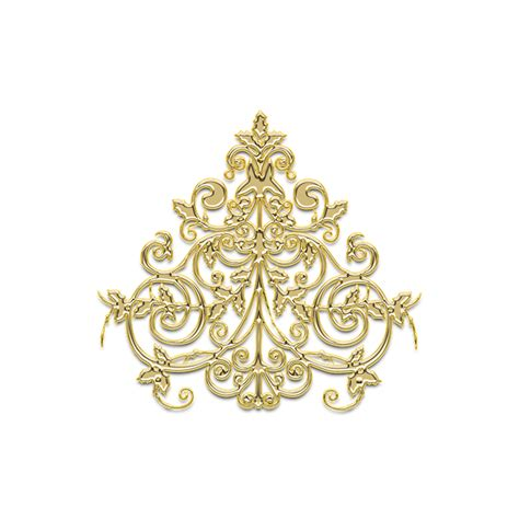 golden pattern png free illustration pattern ornament chandelier free