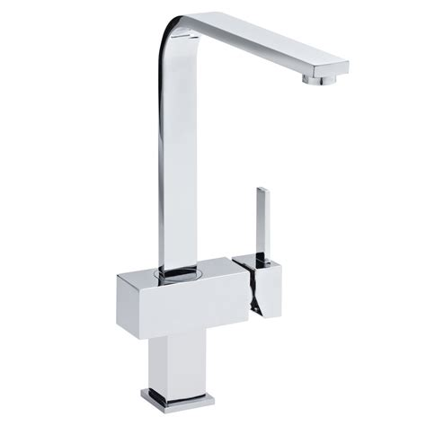 Plumbing Kitchen Taps Calpe Square Modern Kitchen Tap At