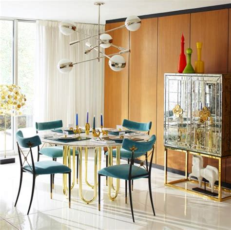 Jonathan Adler Dining Room by Friday Find Delphine Mirrored Bar By Jonathan Adler