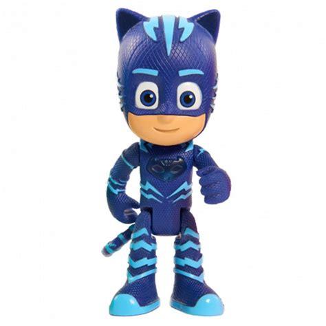 pj masks light up figure just play pj masks light up catboy figure with wristband