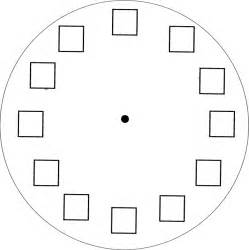 Make A Clock Template by Clock Clipart For Teachers