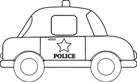 sheriff cars coloring pages black and white clipart car clipartfest
