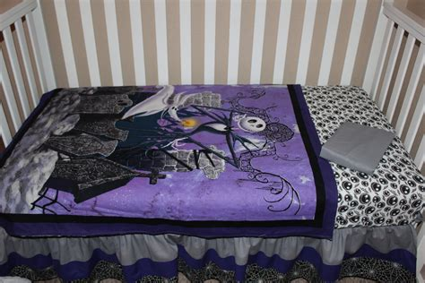 nightmare before christmas bedroom set crib bedding set jack skellington nightmare before