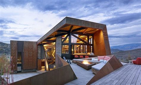 owl creek residence  colorado skylab architecture