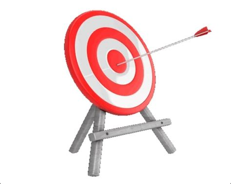 animated target template for powerpoint presentations
