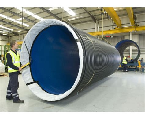 Big Pipe Plumbing by Ridgistorm Xl Large Diameter Thermoplastic Pipe Polypipe