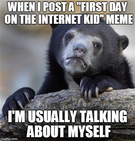 Confession Kid Meme - confession bear meme imgflip