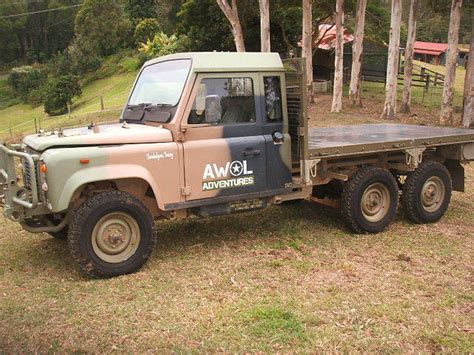 land rover 6x6 perentie defender 110 for sale land rover