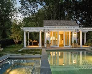 hogares frescos 18 dise 241 os de peque 241 as pero hermosas piscinas summerville pool cabana house plans pools and plan plan