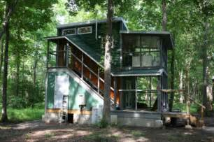two story foundation tiny house the hobo house tiny