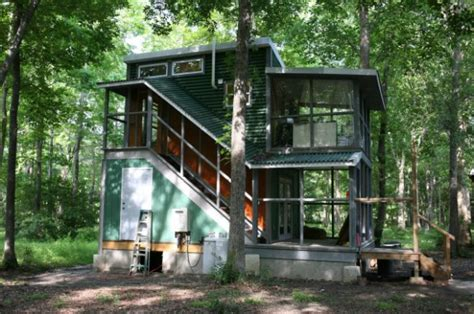 2 story tiny house two story foundation tiny house the hobo house tiny