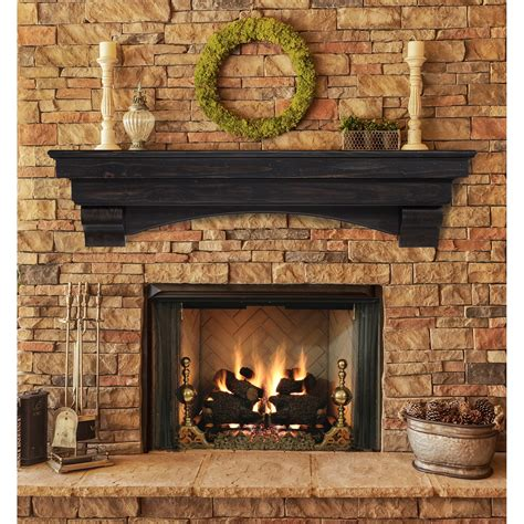 Wood Mantels For Fireplace by Pearl Mantels Celeste Fireplace Mantel Shelf Fireplace
