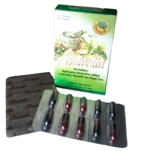 Obat Herbal Asamulin obat asam urat uh asamulin