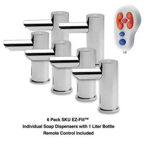 Dispenser Sharp Ez Fill asi 10 0391 6 1ac ez fill 6 pack sku individual soap