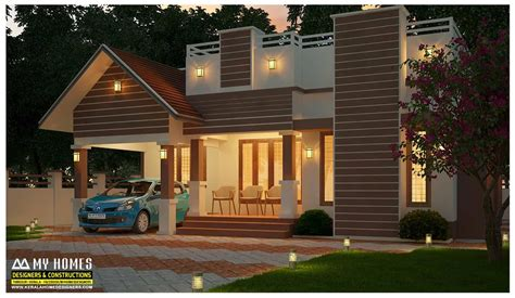 home patterns single floor house designs kerala house planner