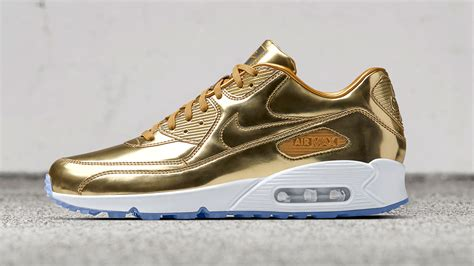 Gold Maxy gold gold nike air 1 and nike air max 90