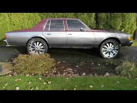 sell used 1979 caprice custom donk 26 inch rims in