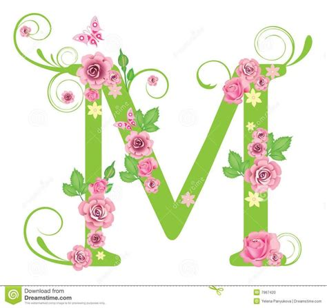 flower design m viewing gallery for m letter design m my letter