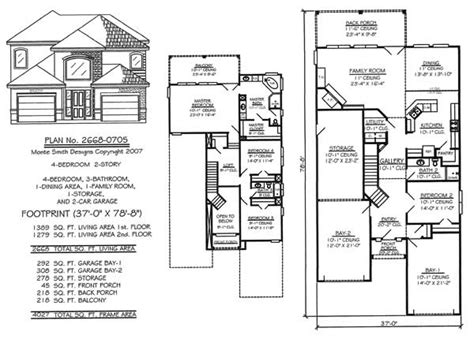 narrow 2 story house plans narrow 2 story floor plans 36 50 foot wide lots